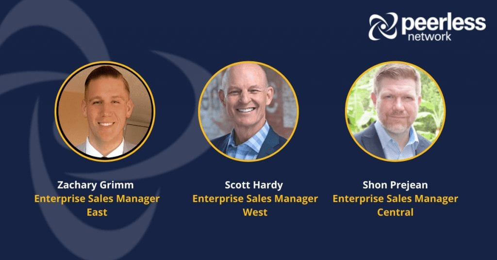 Peerless Network Adds Proven Sales Professionals to Support Market Demand